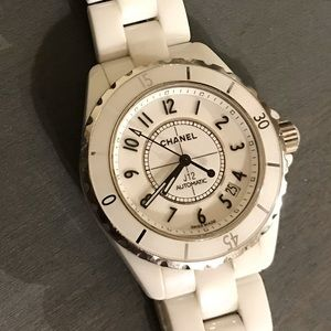 CHANEL Stainless Steel Ceramic 38mm J12 Automatic
